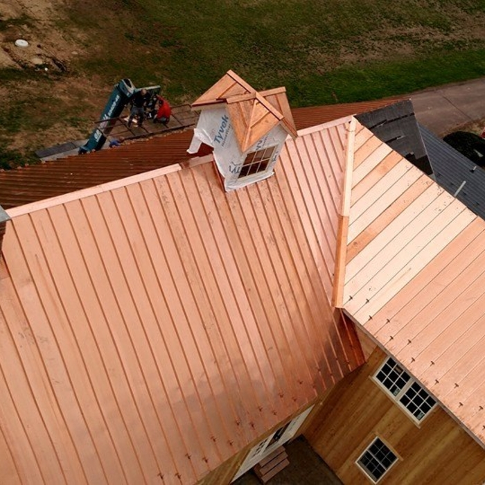 2020 Copper Roof Cost Standing Seam Copper Roofing Homeadvisor