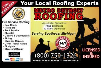 Superb Metro Detroit Roofing