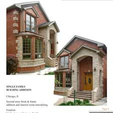 My home architects engineers ltd chicago il 60618 for Home architecture ltd