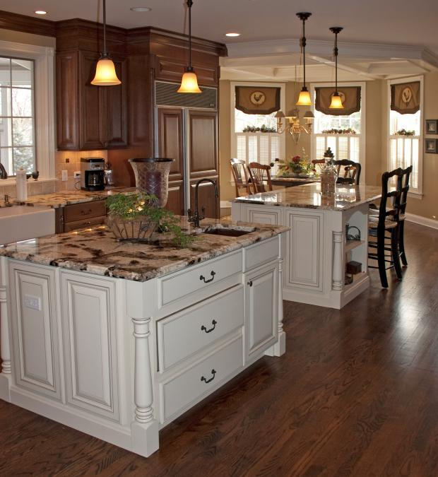 French Country Kitchen In Bartlett English Country