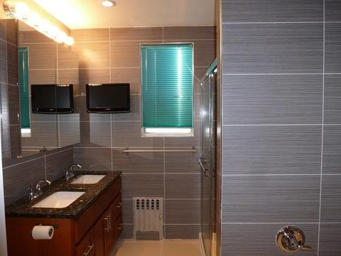 Bathroom Makeover Cost Boatjeremyeatonco - Low cost bathroom makeovers