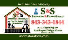 S and S Restoration and Renovation
