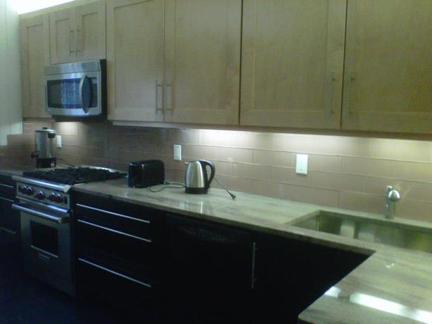 Contemporary kitchen in brooklyn wood cabinets tile for Modern kitchen designs brooklyn ny