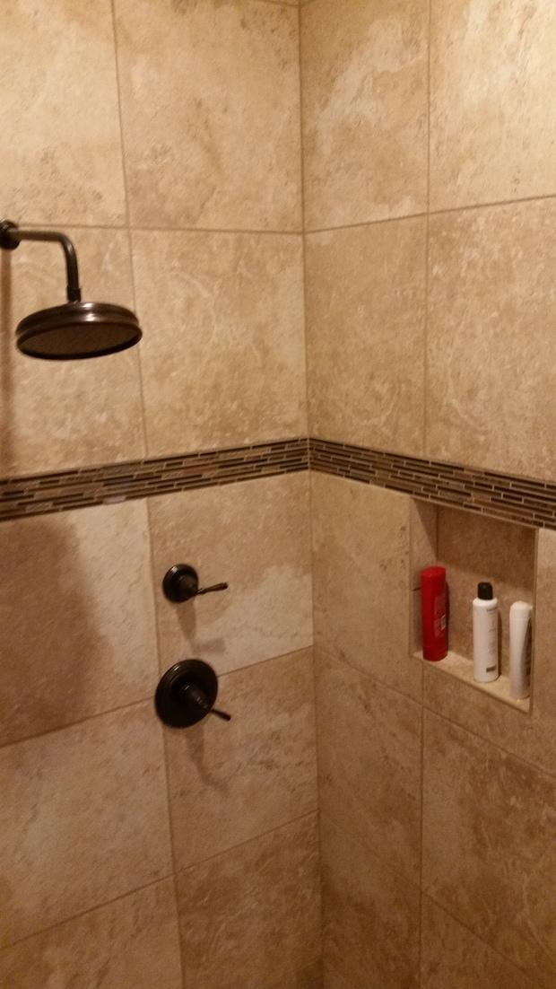 Traditional Bathroom in Anthem - oil rubbed bronze shower fixtures ...