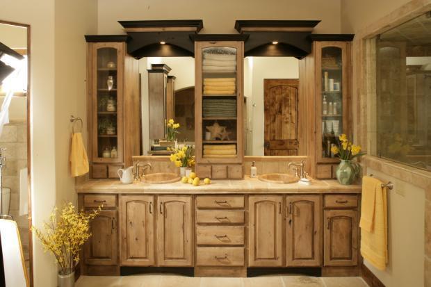 Rustic Bathroom In Las Vegas Faucets Sinks By