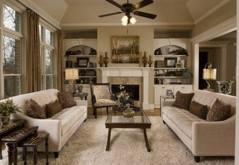 Add To Transitional Family Room With White Wood Fire Place Mantel