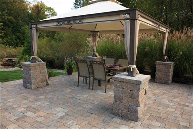 Traditional Patio in Whitehall - metal patio furniture ...