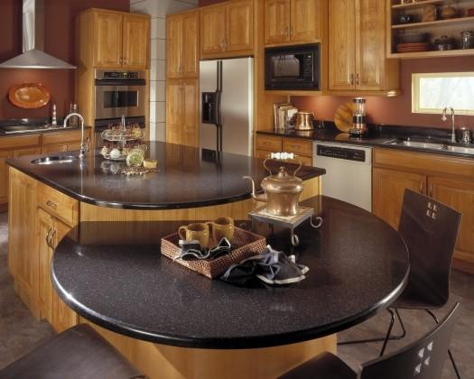 Countertop Material Weight : Contemporary Kitchen by Supreme Home Consultant, Inc.