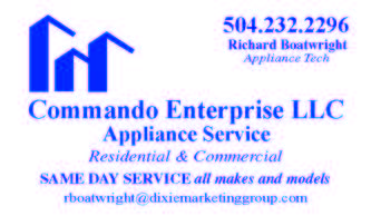 Commando Enterprise Llc Gretna La 70053 Homeadvisor