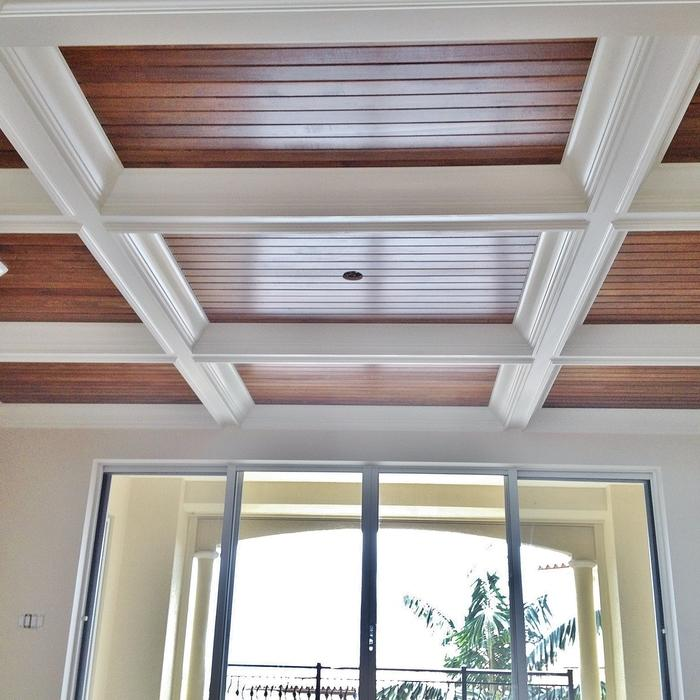 2017 coffered ceiling cost guide how much to install for Foam coffered ceiling