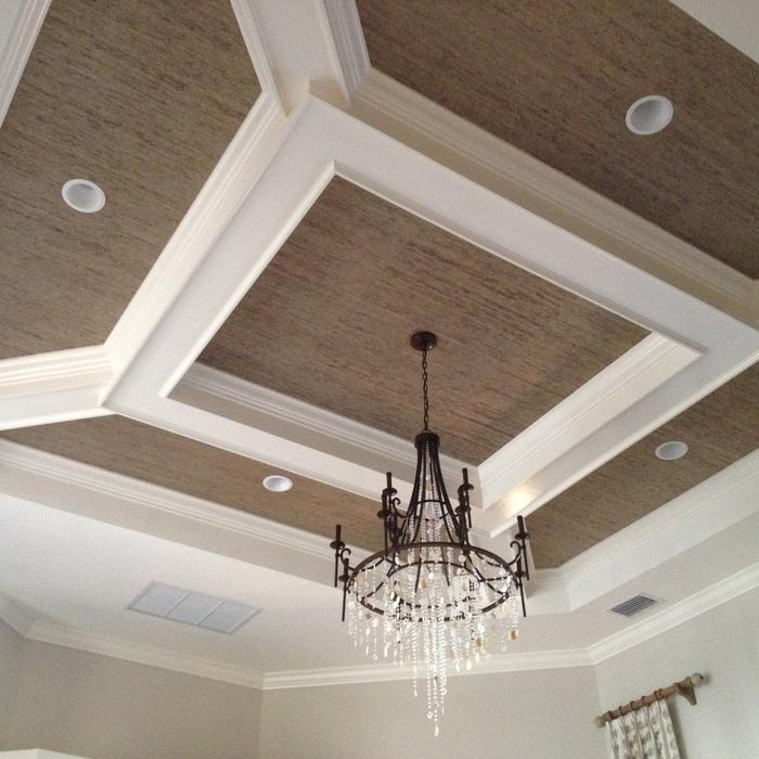 2018 coffered ceiling cost guide how much to install for Coffered cathedral ceiling