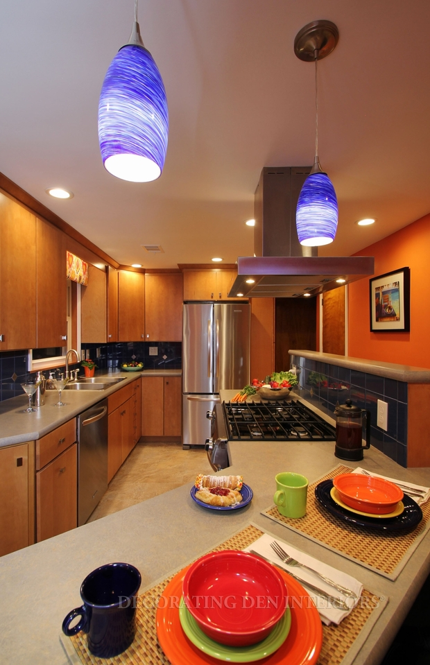 Contemporary Kitchen In Pittsburgh Stainless Steel Stove