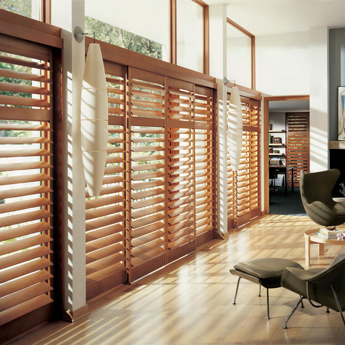 Room with Shutters Helps Keep Rooms Cool Without A/C