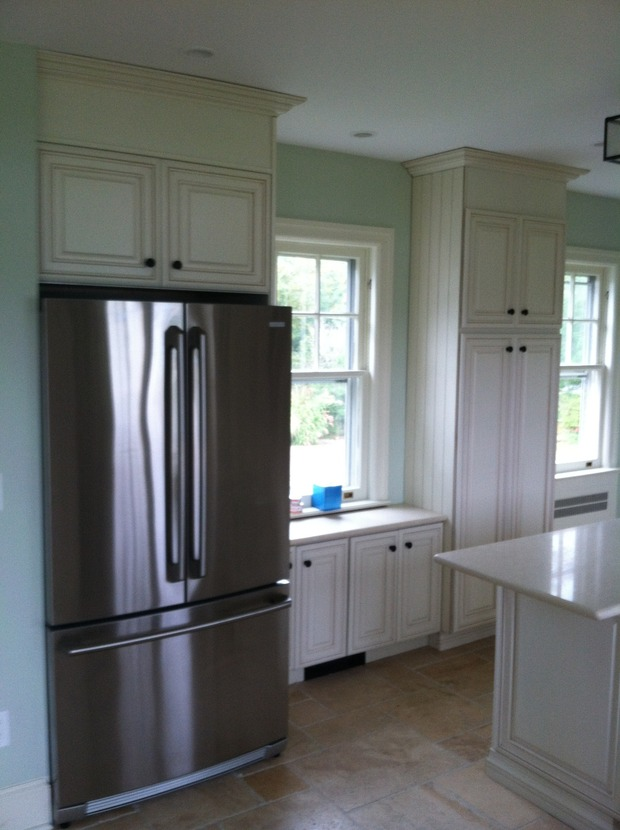 Kitchen cabinets asbury park nj - Traditional Kitchen In Asbury Park White Cabinets Granite Counter