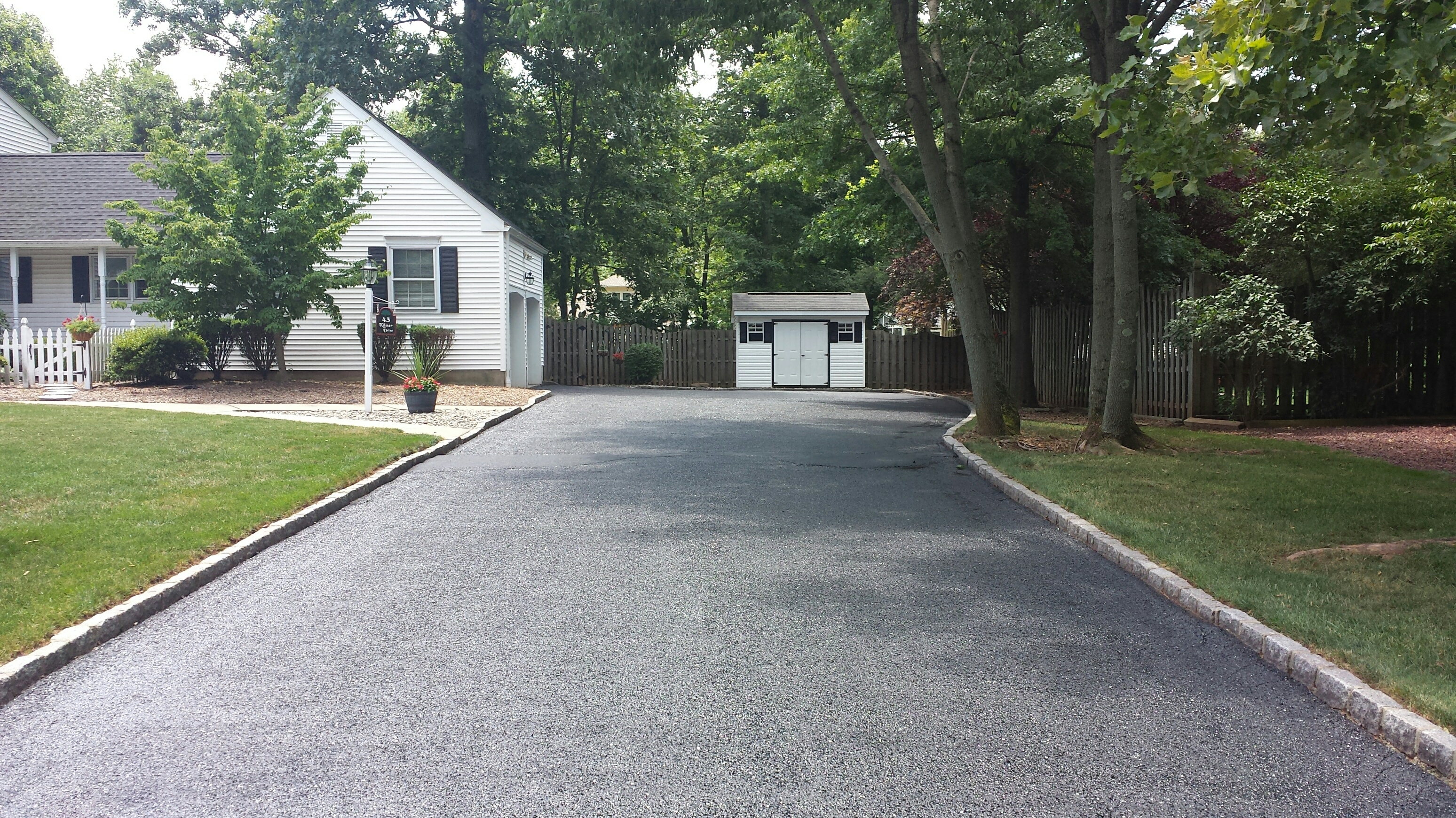 2018 asphalt paving costs install resurface replace Exterior stone cost per square foot