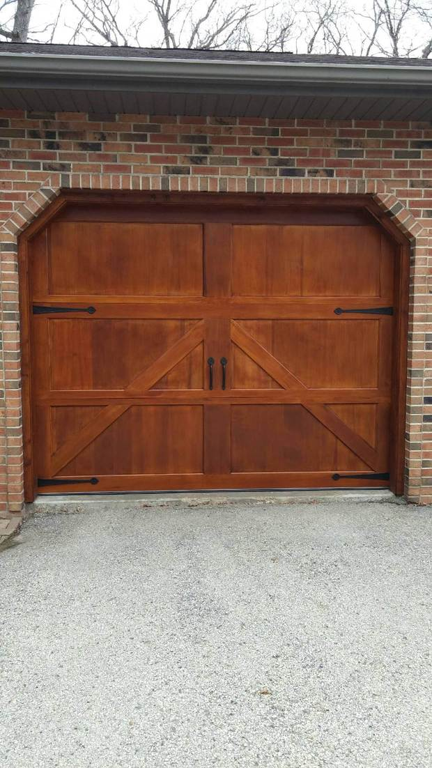 French country garage in mcfarland carriage style garage for French country garage doors