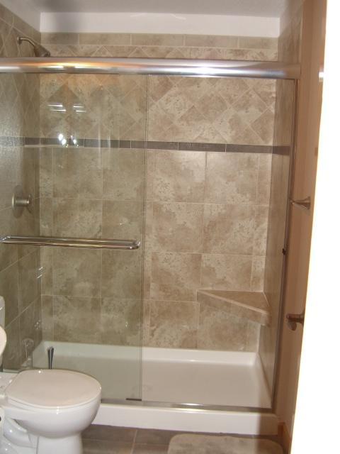 Contemporary Bathroom In Littleton Polished Nickel