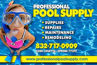 Professional Pool Supply Spring Tx 77379 Homeadvisor