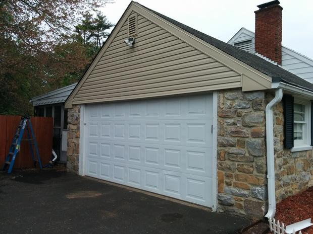 Rustic Home Exterior In Bensalem Dutch Lap Siding Mortared