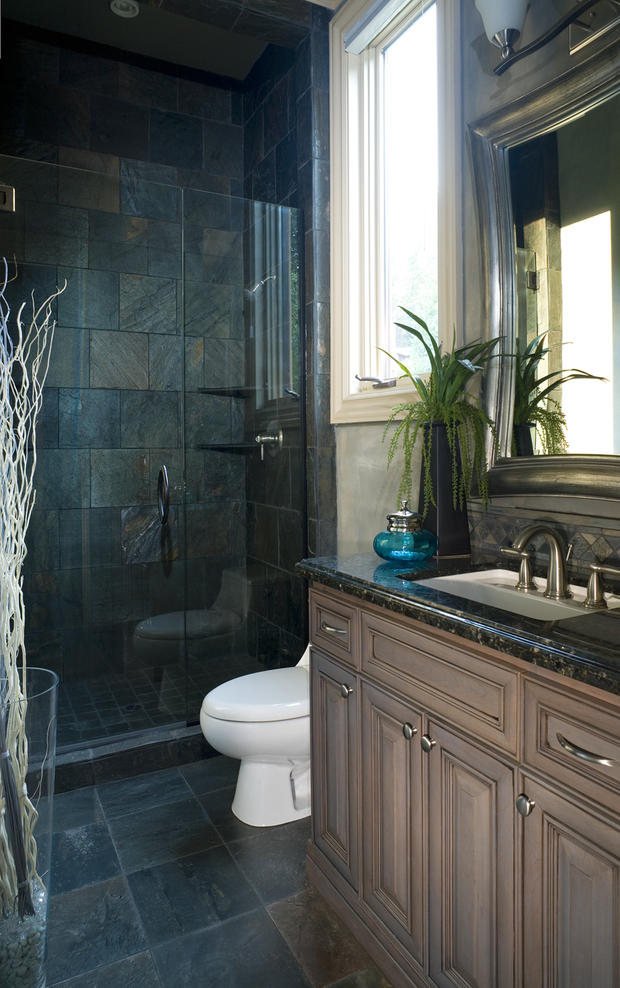 Small Bathroom Remodels Spending Vs HuffPost   5000 Bathroom Remodel