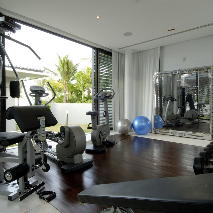 Home Gym Design Ideas Basement: Home Gym Flooring Ideas