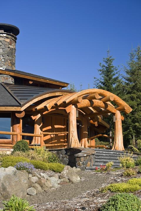 Traditional Home Exterior with multiple roof lines