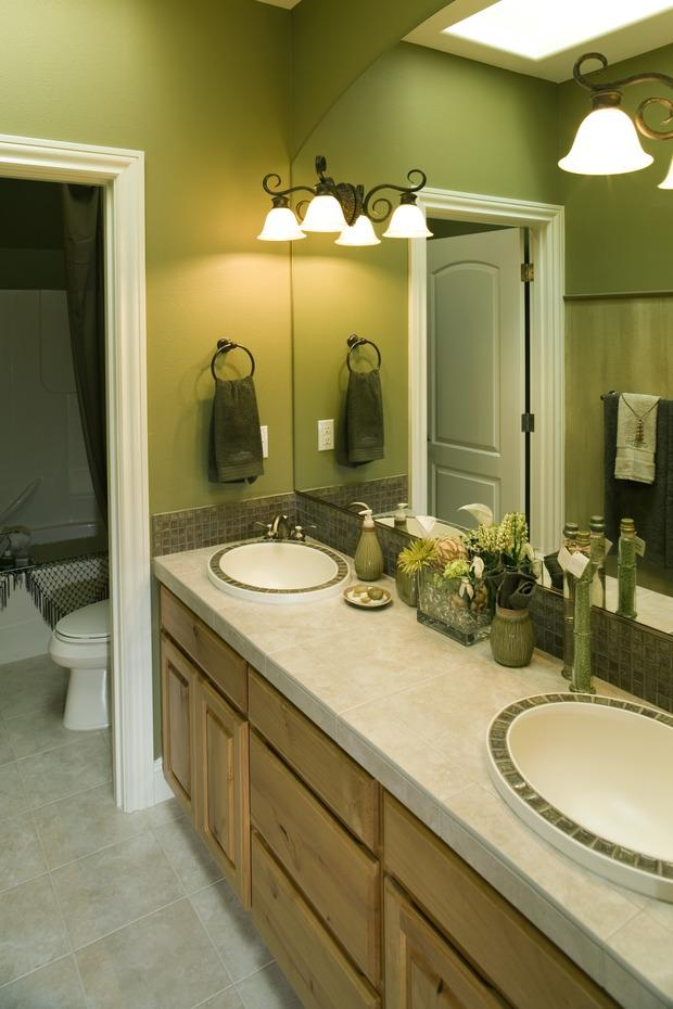 beige and brown bathroom tiles ideas and pictures