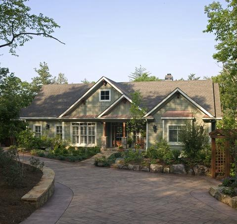 Traditional Home driveway estimate
