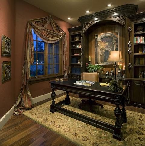 Traditional home office ideas designs pictures - Home interior decoration ideas ...