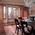 Traditional Dining Room with transitional style dining room