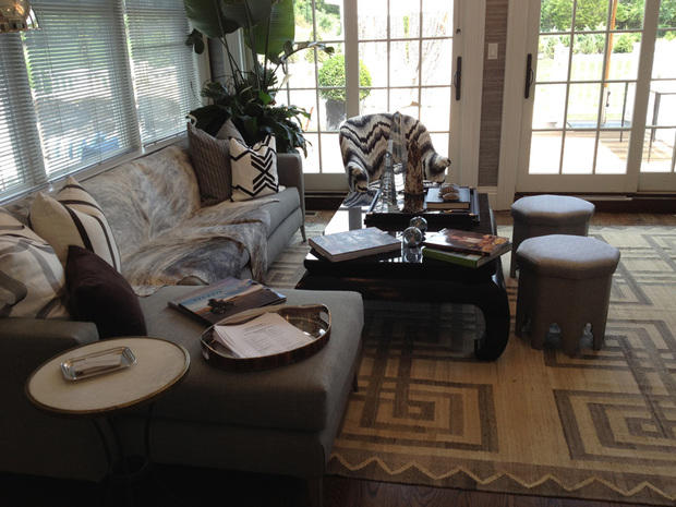 Eclectic Living Room In Bala Cynwyd Black And White