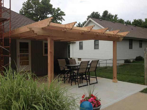 Patio in Kansas City outdoor furniture pergola