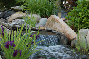 Local Garden Waterfall Companies and Water Fountain Installers
