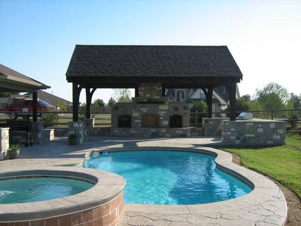 Casual Living Pools : Casual / Comfortable Pool in Broken Arrow - in ground pool ...