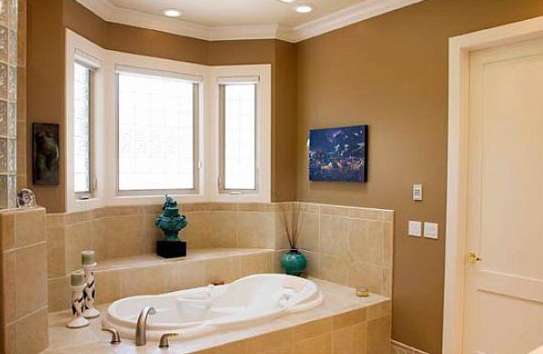 Most popular bathroom paint colors