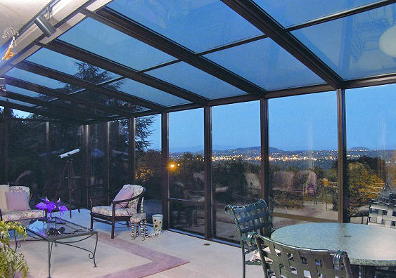 Charming Modern Sunroom In Federal Way   Glass Roof, Metal Framing | By Seattle  Patio Covers, Inc.