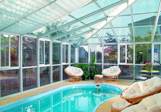 Modern Pool In Federal Way   Enclosed Pool, Solarium | By Seattle Patio  Covers, Inc.