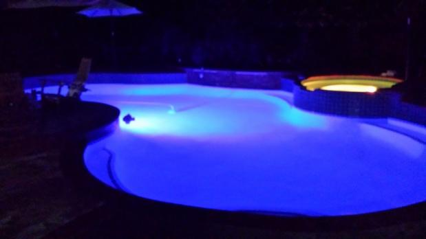 Modern Pool In Mission Viejo In Ground Pool Led Lights By South Oc Pool Service Repair