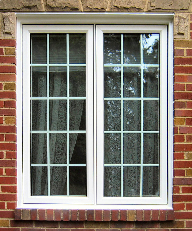 Traditional Home Exterior In Albany Glass Panel Windows