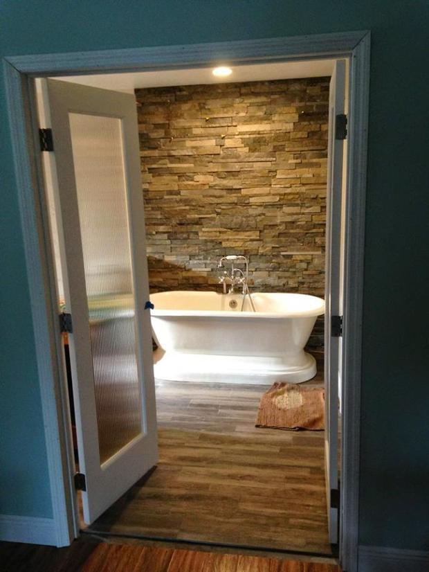 Contemporary Bathroom In Clearwater Free Standing Tub