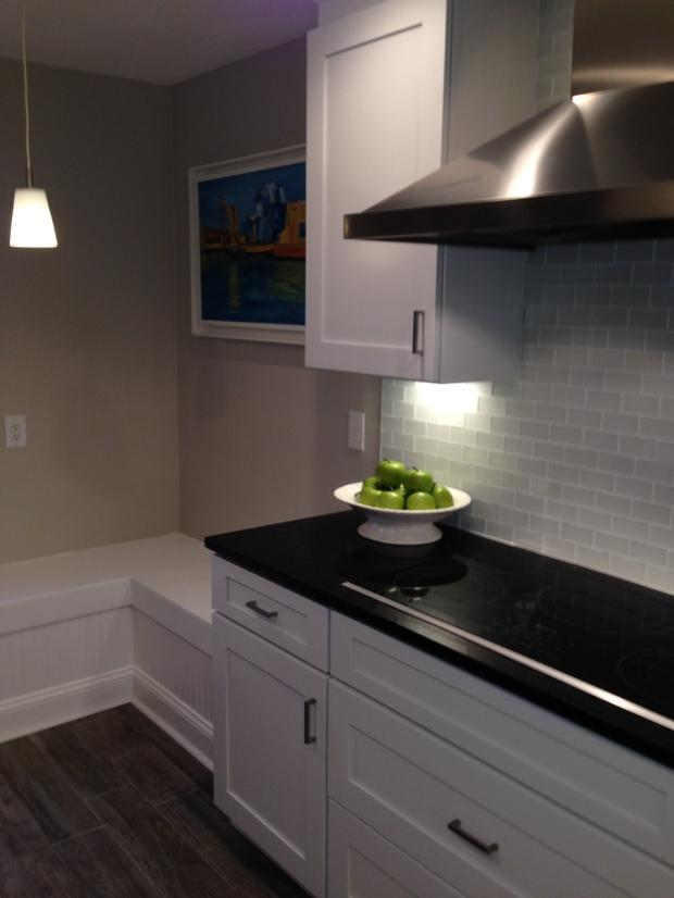 Modern Kitchen In Alexandria Tile Backsplash Wood Floor By SCW Kitchen A