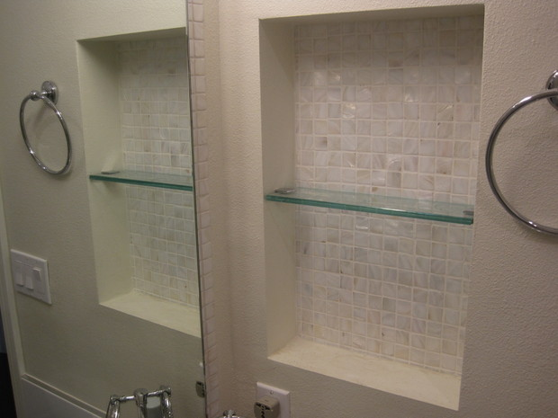 Floating Glass Shelves For Bathroom