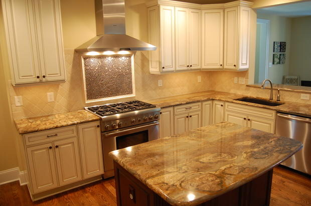 Traditional kitchen in richmond island wood floor by for Classic homes llc