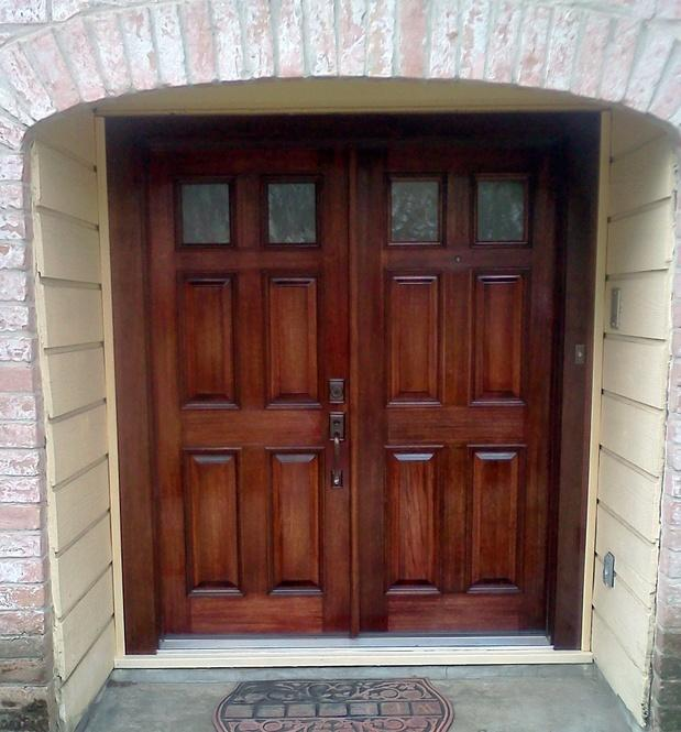 Solid Core Wood Doors, Colored