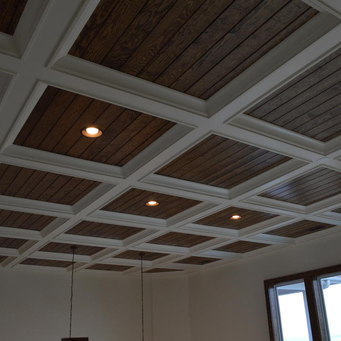 2018 coffered ceiling cost guide how much to install for Coffered ceiling styles