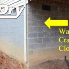 Photos B Dry Waterproofing Foundation Repair Of Knoxville