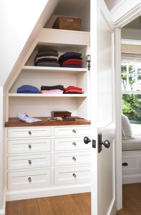 Cape Cod Closet In Paxton Butcher Block Counter Pull