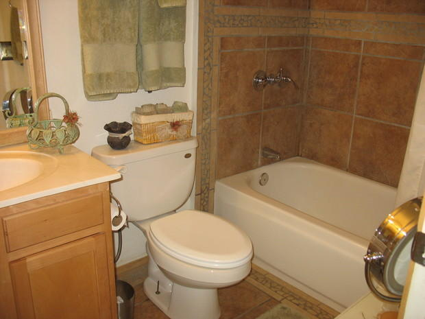 Traditional Bathroom In Phoenix   Chrome Fixtures, Ceramic Tile | By It Is  Finished Home Repair U0026 Remodel, LLC