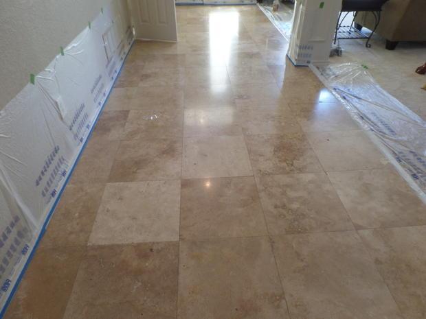 Hallway In Lewisville By Total Floor Care