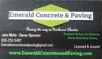 Emerald Concrete Amp Paving Santa Rosa Beach Fl 32459